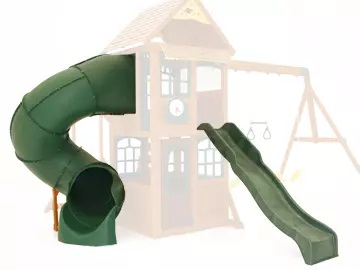 epic climbing frame with slide
