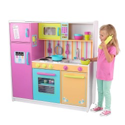 Bucatarie de joaca Deluxe Big and Bright Play Kitchen KidKraft 53100