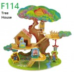 Tree-House-Forest-Cabin - Casuta din copac