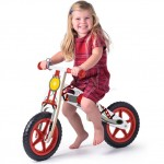 Bicicleta fara pedale din lemn, Scooter Woodyland Rosie - My First Bike