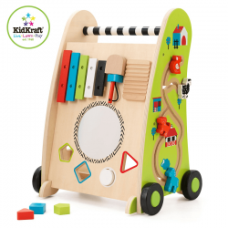 Premergator / Antemergator din lemn Push Along Play Cart Kidkraft