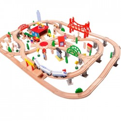 Set trenulet City Train 130 piese
